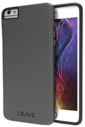 iPhone 6 Case, iPhone 6S Case, Crave Dual Guard Protection Series Case for iPhone 6 6s (4.7 Inch) – Slate