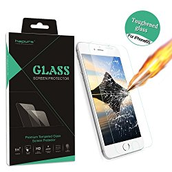 iPhone 6S Screen Protector, Hapurs® Iphone 6S Tempered Glass Screen Protector 0.3mm Premium High Definition Shockproof Screen Film for Iphone 6S/6