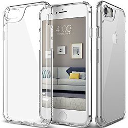 iPhone 7 Case, Caseology [Waterfall Series] Slim Transparent Clear Cushion Grip [Clear]