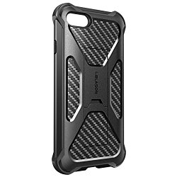 iPhone 7 Plus Case, i-Blason Transformer [Kickstand] [Heavy Duty] [Dual Layer] Combo Holster Cover case with [Locking Belt Swivel Clip] (Black)