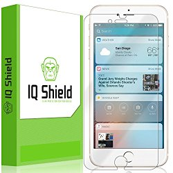 iPhone 7 Plus Screen Protector, IQ Shield® LiQuidSkin Full Coverage Screen Protector for iPhone 7 Plus HD Clear Anti-Bubble Film – with Lifetime Warranty