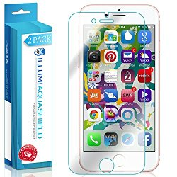 iPhone 7 Screen Protector (iPhone 6s,iPhone 6 4.7″)(2-Pack), ILLUMI AquaShield Premium High Definition Ultra Clear / Invisible Bubble-Free UV Resistant Self-Healing Film w/ Lifetime Warranty