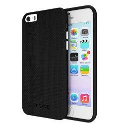 iPhone SE Case, Crave Dual Guard Protection Series Case for iPhone 5 / 5s / SE – Black