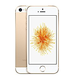 Apple iPhone SE 16GB Factory Unlocked LTE Smartphone – Champagne Gold (Certified Refurbished)