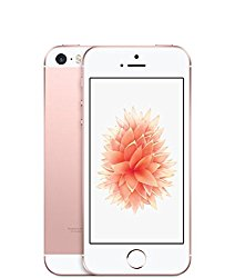 Apple iPhone SE 64GB Factory Unlocked LTE Smartphone – Rose Gold (Certified Refurbished)