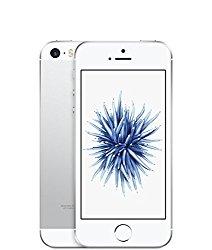 Apple iPhone SE 64GB Factory Unlocked LTE Smartphone – Silver (Certified Refurbished)