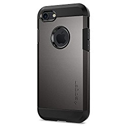 Spigen Tough Armor iPhone 7 Case with Extreme Heavy Duty Protection and Air Cushion Technology for iPhone 7 2016 – Gunmetal