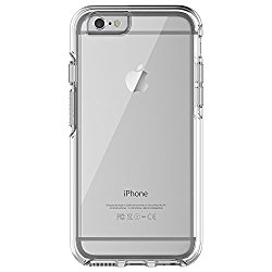 OtterBox SYMMETRY CLEAR SERIES Case for iPhone 6/6s (4.7″ Version) – Frustration Free Packaging – CLEAR (CLEAR/CLEAR)