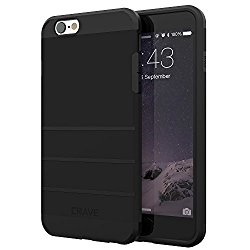 iPhone 6S Case, iPhone 6 Case, Crave Strong Guard Protection Series Case for iPhone 6 6s (4.7 Inch) – Black