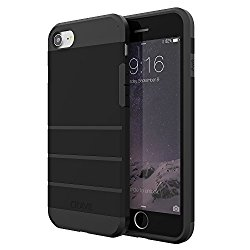 iPhone 7 Case, Crave Strong Guard Protection Series Case for Apple iPhone 7 (4.7 Inch) – Black