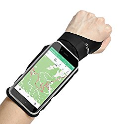 """LENTION iPhone 7 Plus/6s Plus/6 Plus Touch Screen Forearm Band, Wristband, Running Armband with Key ID Cash Holder for Cycling, Jogging, Exercise, Sports (for Phones from 5.1""""- 5.8"""")"""