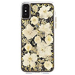 Case-Mate Karat Petals Cell Phone Case for iPhone – White