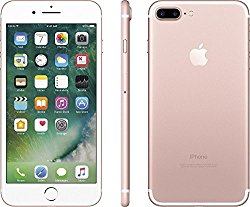 Apple iPhone 7 Plus 32 GB  Unlocked, Rose Gold (Certified Refurbished)