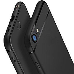 iPhone 6 Case, iPhone 6S Case, CC Kimico [Ultra-Thin] & [Soft touch] Premium Matte TPU Protect Cover for iPhone 6/6s 4.7 inch (Black)