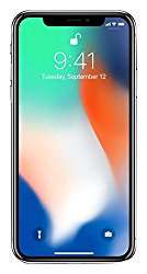 Apple iPhone X, Fully Unlocked 5.8″, 64 GB – Silver
