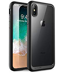 iPhone Xs Case, iPhone X Case, SUPCASE [Unicorn Beetle Style] Premium Hybrid Protective Clear Case for for iPhone X 2017 & iPhone Xs 5.8 inch 2018 Release (Black)