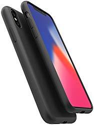 iPhone XS Case / iPhone X Case, Moduro [MINIMALIST SERIES] Full Coverage Ultra Thin [1.5mm] Slim Fit Flexible TPU Case for iPhone XS / iPhone X (Matte Black)
