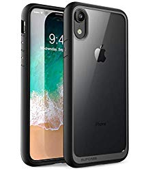 iPhone XR Case, SUPCASE [Unicorn Beetle Style Series] Premium Hybrid Protective Clear Case for Apple iPhone XR 6.1 inch 2018 Release (Black)