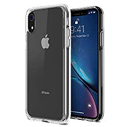 iPhone XR Case, Trianium Clarium Case Compatible Apple iPhone XR (2018)[6.1″ ONLY] TPU Cushion Protection and Hybrid Rigid Clear Back Cover [ Work w/Most Screen Protector] – Clear