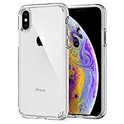Spigen Ultra Hybrid Designed for Apple iPhone Xs Case (2018) / Designed for Apple iPhone X Case (2017) – Crystal Clear