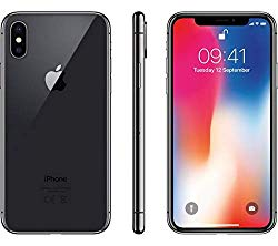 Apple iPhone X, 256GB, Space Gray – For AT&T/T-Mobile (Renewed)