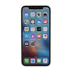 Apple iPhone X, GSM Unlocked, 256GB – Silver (Renewed)