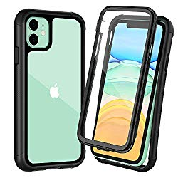 OTBBA iPhone 11 Case, Full-Body with Built-in Screen Protector Heavy Drop Protection Shock Absorption Cover Case Designed for iPhone 11 – 6.1 inch