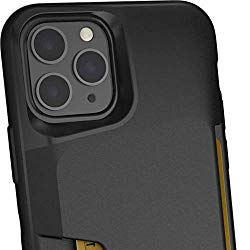 Smartish iPhone 11 Wallet Case – Wallet Slayer Vol. 1 [Slim + Protective] Credit Card Holder (Silk) – Black Tie Affair