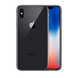 Apple iPhone X, 64GB, Space Gray – Fully Unlocked (Renewed)